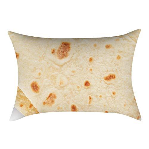 30 cm x 50 cm Mexikanische Burritos Kissenbezug Sofakissen, Fällen Wurfkissen Einzigartiges Design Kissenbezug Für Sofa Couch Schlafzimmer (I)