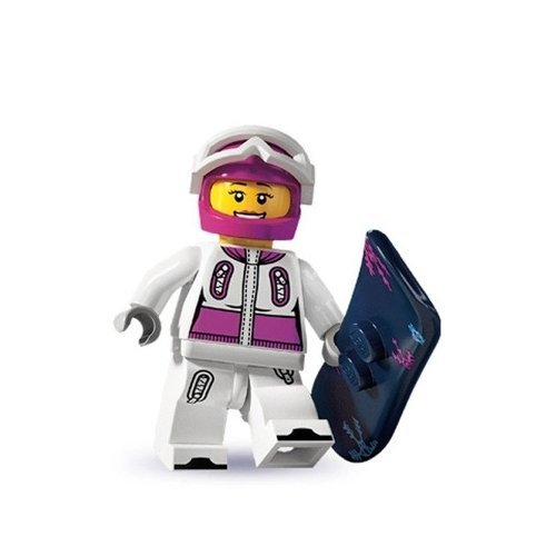 Lego: Minifigures Series 3 Female Snowboarder Mini-Figure by LEGO
