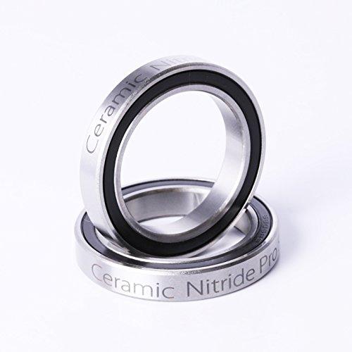 Price comparison product image 6806 2RS Ceramic Cartridge Bearing BB30 ID=30 OD=42 W=7 30x42x7mm Ceramic Ball Bearing