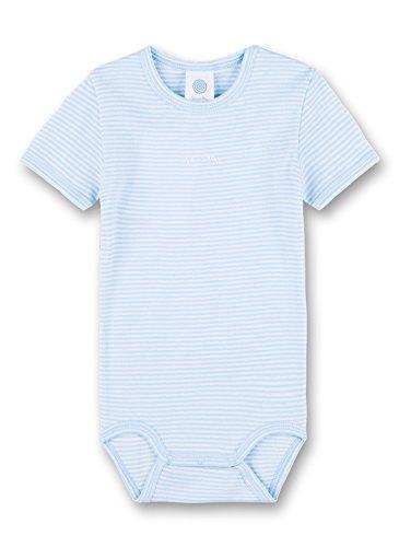 Sanetta Baby-Jungen 1/2 w.Print Formender Body, Blau (Soft Blue 50266.0), 98