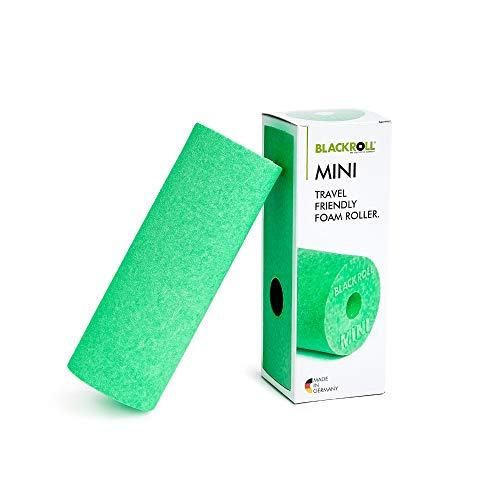 BLACKROLL® MINI Faszienrolle - das Original. Die kleine Selbstmassage-Rolle für die Faszien in grün