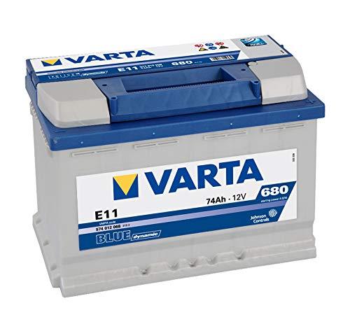 BATERIA DE COCHE VARTA E11 74AH 680AA