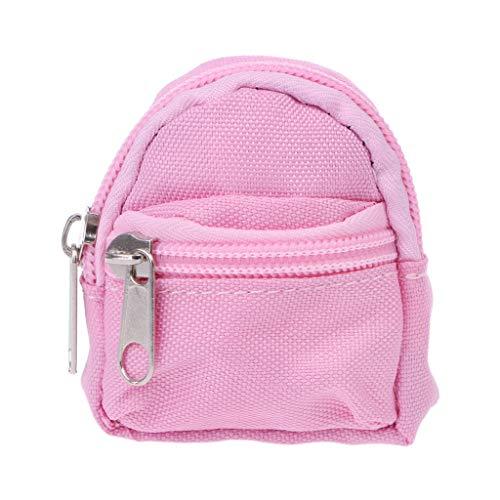 7 Colores Mini Muñeca Mochila Bolsa Accesorios Juguetes Lindo para Niños Regalos