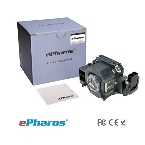 ePharos V13H010L42 / ELPLP42 - Lamp With Housing For Epson PowerLite 83 / 83C / 410W / 822 / 822p / 83v, EMP-83H, EMP-83, EB-410W, EMP-400WE, EMP-400W, EMP-400, EMP-280, EB-410WE, EB-400W