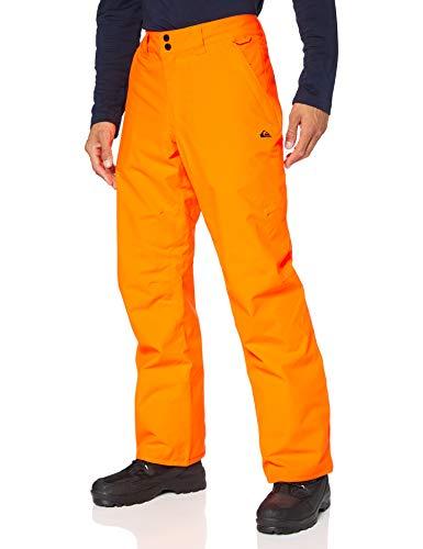 Quiksilver Arcade-Pantaloni da Snowboard da Uomo, Shocking Orange, M