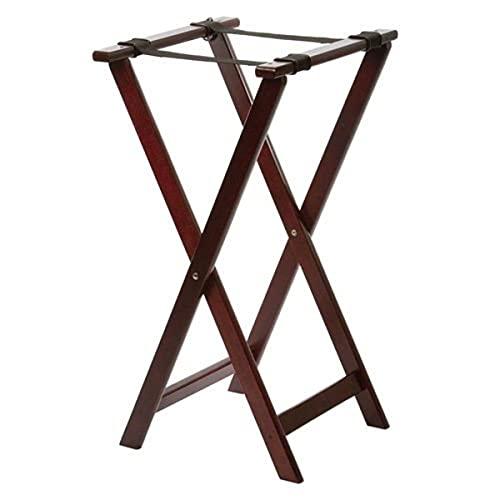 Tablecraft - Soporte plegabe para bandejas, madera, color Mahón