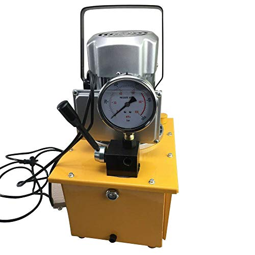 Hydraulikpumpe HaroldDol Elektrohydraulikpumpe 700Bar 750W Hydraulikaggregat mit Manuelle Ventil