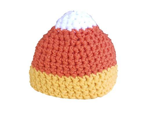 Crochet Candy Corn hat- Newborn to Adult