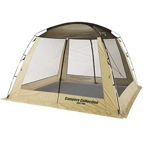 山善 キャンパーズコレクション テント スクリーンハウス300 PSH-300(BE)