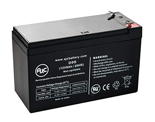 Razor E300 12V 9Ah Electric Scooter Battery - This is an AJC Brand Replacement
