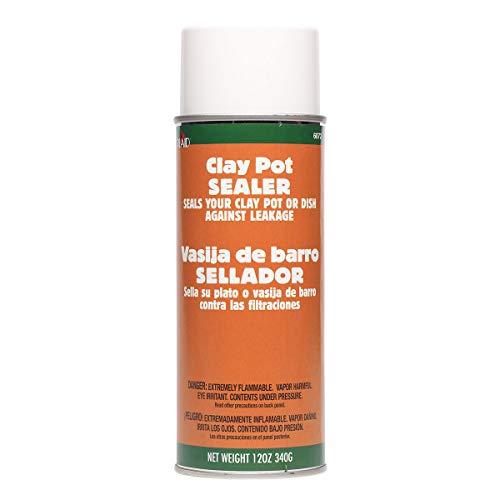 Plaid Clay Pot Sealer, 12oz, Clear