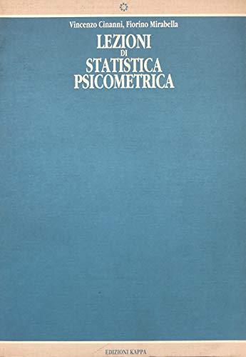Lezioni di statistica psicometrica