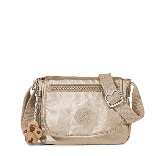Kipling Sabian Alabastro - Mini bolsa (tamaño único, color dorado