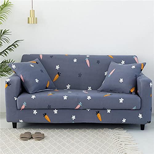Fundas de sofá de Esquina,Sofá Universal con Estampado de Tela envolvente-A-03_Tres Personas 190-230cm,Cubre Sofa Universal Tejido de Poliéster