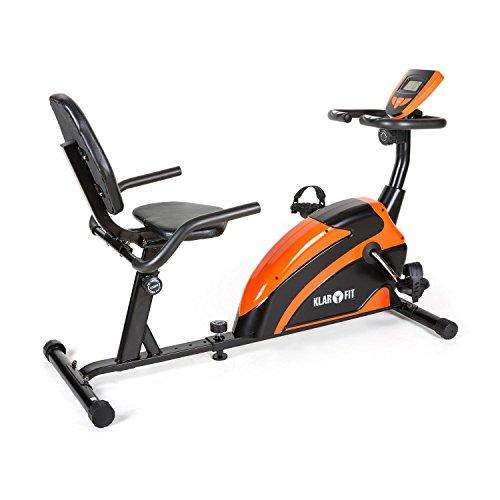 Klarfit Relaxbike 5G ergometro cyclette sdraio ergometro cardio...