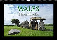 Wales Hexenblicke (Wandkalender 2022 DIN A3 quer): Ein kleiner Blick in das Land der verzauberten Orte und magischen Augenblicke. (Monatskalender, 14 Seiten )
