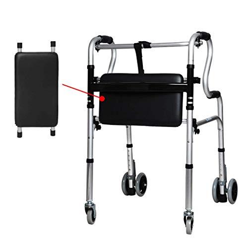 ShopZL Walking Frames, Drive DeVilbiss Gezondheidszorg Rollator Met Onderstoel Riethouder Lade