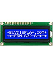 1602 16x 2 Character LCD Display Module HD44780 Controller Blue Backlight 5V DC arduino