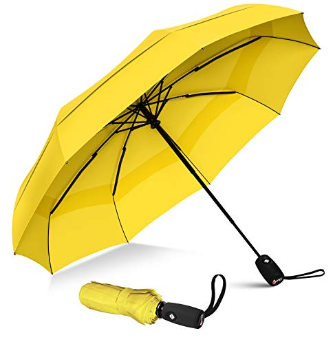 eBuyGB Lightweight Mini Folding Compact Travel Rain Umbrella for Men and Women 38 12707
