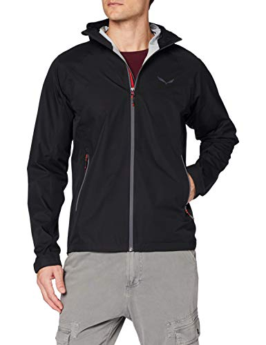 Salewa 00-0000024545_912 Jacket Homme, Black Out/0730, FR : M (Taille Fabricant : 48/Medium)