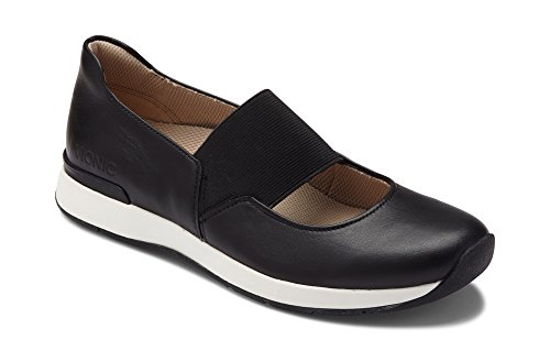 Vionic Women's Cosmic Cadee Mary Jane - Ladies Casual Walking Shoes with Concealed Orthotic Arch Support Black 8 M US