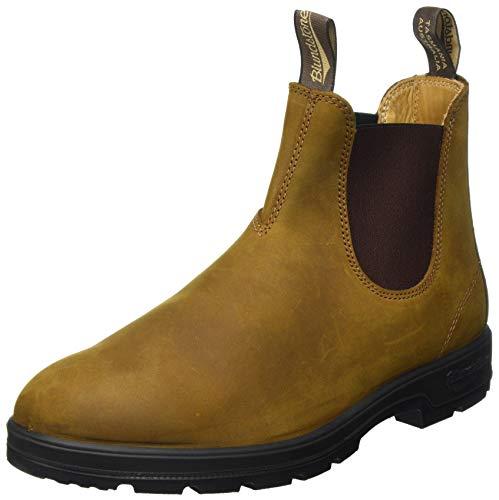 BLUNDSTONE Unisex Classic 550 Series Chelsea Boot, Crazy Horse Brown, 43 EU