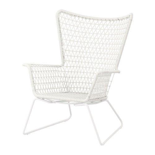 IKEA HOGSTEN -Sessel weiß