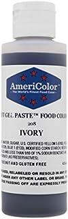 Americolor Soft Gel Paste Food Color, 4.5-Ounce, Ivory