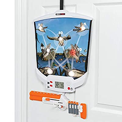 Rec-Tek Over The Door Hunting Game for Kids - Features Easy Assembly and Easily Adjustable Height - Complete with all Accessories from Rec-Tek