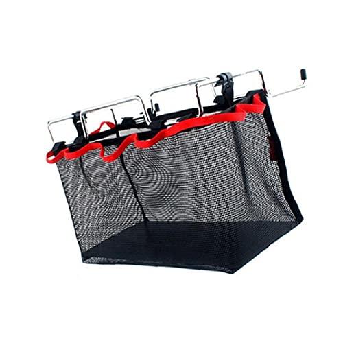 IUwnHceE Folding Netztasche Picknick-Tisch Rack-Material-Speicher-Net-Tasche für Outdoor Schwarz Explorer Expedition Campingausrüstung