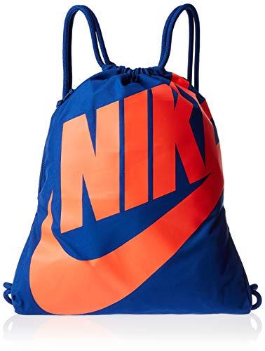 Nike Unisex-Erwachsene NK HERITAGE GMSK Klassische Sporttasche, Mehrfarbig (Indgfrc/Brghtcrmsn), 17x15x25 centimeters