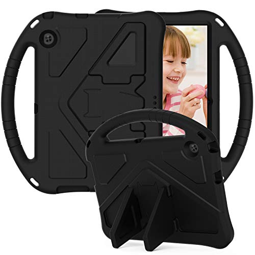 for Huawei Mediapad T3 9.6 inch Tablet Case for Kids - Durable Lightweight EVA Shockproof Protective Handle Stand Cover for Huawei Mediapad T3 9.6'