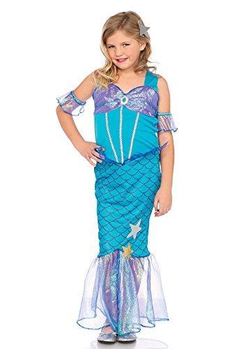 Leg Avenue LO49109 Kostüme, Unisex-Kinder, blue, L