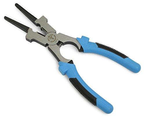 "ION TOOL Welding Pliers, 8"" Blue/Black"