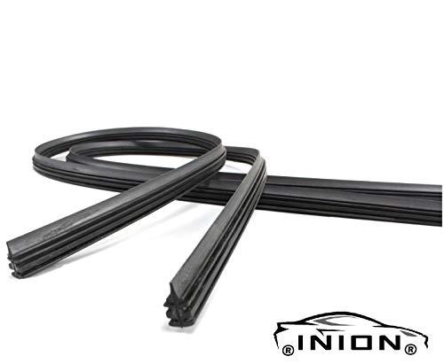 INION Satz - 2x 750mm lang Ersatz Scheibenwischer Gummi Wischergummi Kompatibel mit Bosch Aerotwin Scheibenwischer