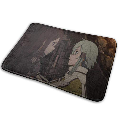shenguang Carpet Big Moments in Sword Art Online Ii The Meaning of Strength Super Absorbent Mat Interior and Exterior Decorative Carpet Doormat Bathroom 40x60