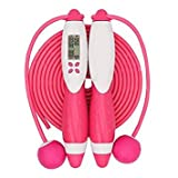 Lanlanl Compteur Jump Cordes Fitness Sport Corde à sauter avec ou sans fil Digital...