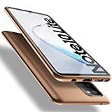 X-level Funda para Samsung Galaxy Note 10 Lite, Suave TPU Gel Silicona Ultra Fina Anti-Arañazos y Protección a Bordes Funda Phone Case Carcasa para Samsung Galaxy Note 10 Lite - Oro