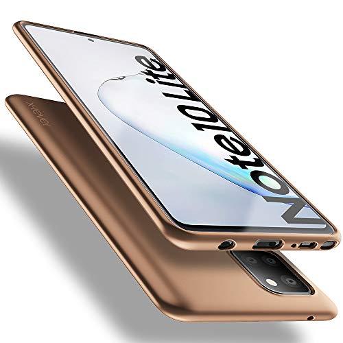 X-level Samsung Galaxy Note 10 Lite Hülle, [Guardian Serie] Soft Flex TPU Hülle Superdünn Handyhülle Silikon Bumper Cover Schutz Tasche Schale Schutzhülle für Samsung Note 10 Lite - Gold