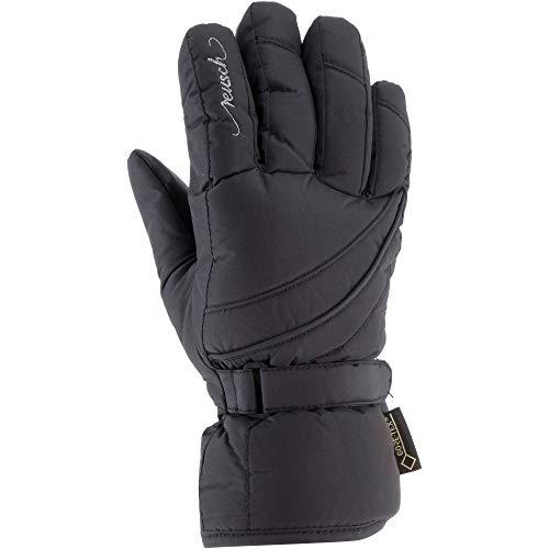 Reusch Damen Sophie GTX Handschuh, Black/Silver, 7.5
