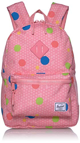 Herschel Unisex-Kinder Heritage Youth Children's Backpack, Primäre Punkte, 16L