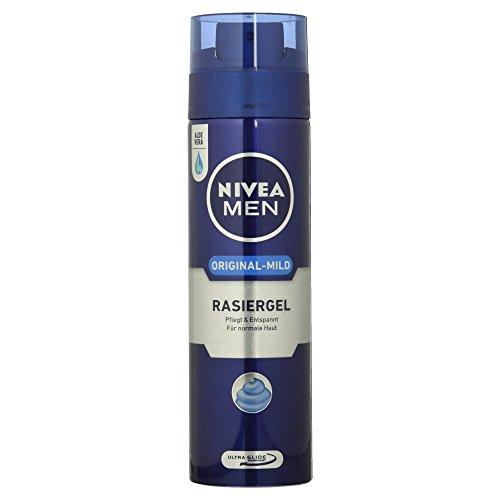 Nivea Men Original-Mild Rasiergel, für normale Haut, 200 ml