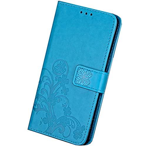 HONGGE Accesorios Funda de Cuero de la Billetera Flip para BQ AQUARIS V VS Plus UU2 Lite X5 Plus X X2 Pro C M4.5 M5 CUBIERTE (Color : 2Blue, Material : X Pro)