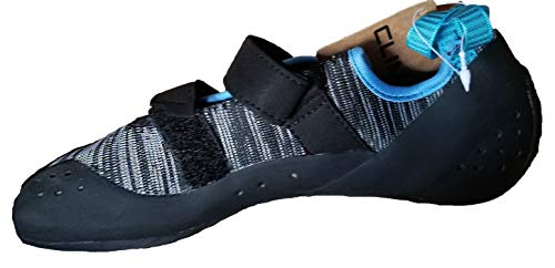 Climb X Gear Icon Rock Climbing Shoe Knit 2019 (10.5, Gray)