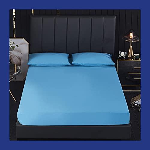 uyeoco 90/99cm Protector de colchón Microfibra - Transpirable - Funda para colchon estira hasta de Profundidad (Color : E, Size : 99 * 190+36cm)