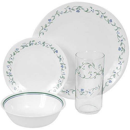 Corelle Livingware Country Cottage 16-Piece Dinnerware Set, Service for 4