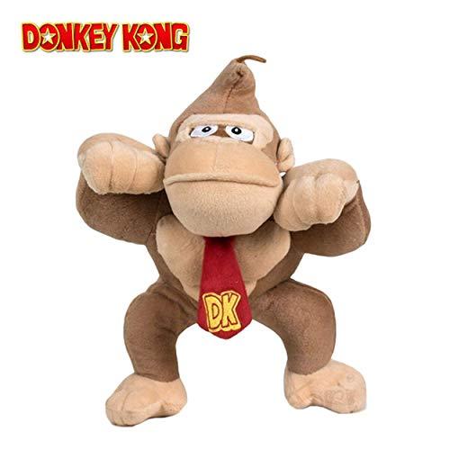 SUPER MARIO Bros - Peluche Donkey Kong 32cm Calidad Super Soft