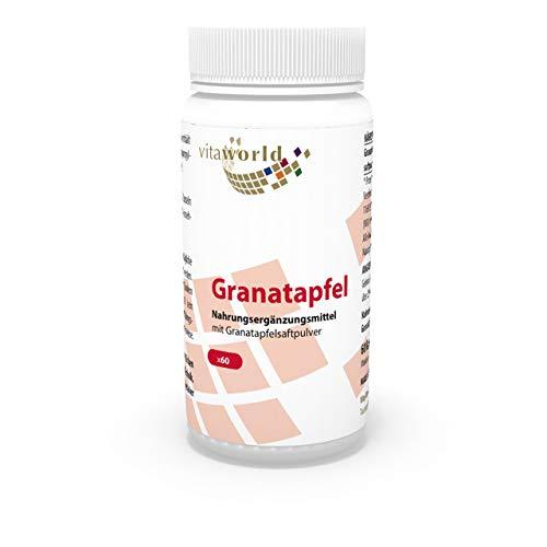 3er Pack Vita World Granatapfel 500mg 3 x 60 Kapseln Apotheken Herstellung
