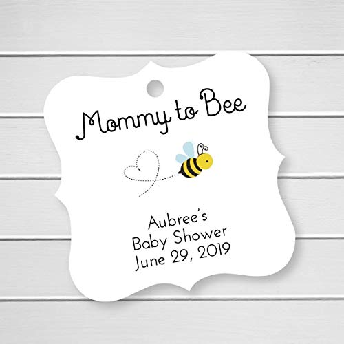 Mommy to Bee Honey Favor Hang Tags (FS-289)