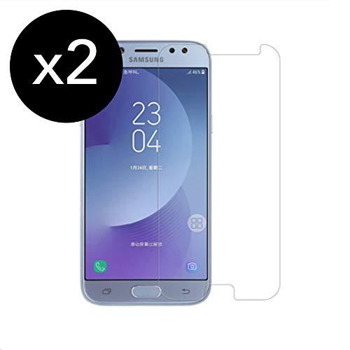 KSTORE365 2 Piezas Cristal Templado Samsung J7 2017, Protect